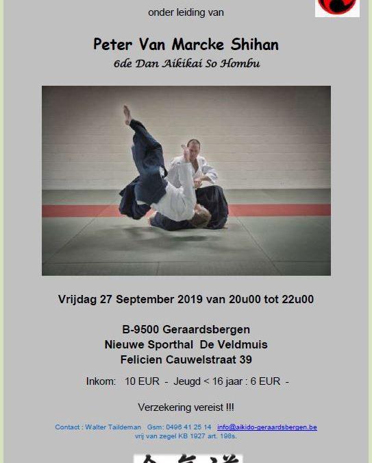 Peter Van Marcke  6de dan – Geraardsbergen – 27 september 2019