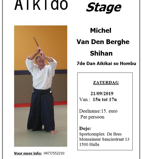 Michel Van Den Berghe – Halle – 21 september 2019